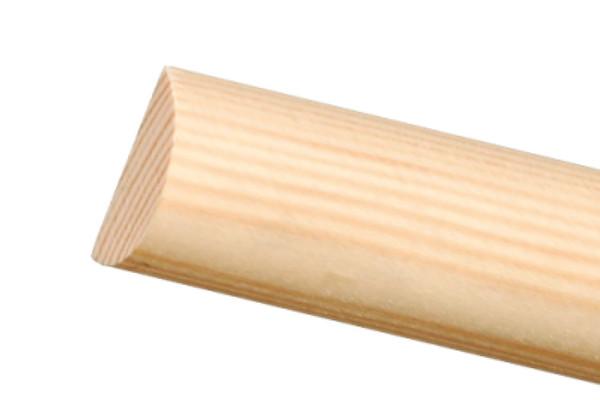 Halbrundstabe Bastelleisten Massivholzleisten Profiles And More